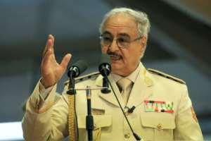 Libyan strongman Khalifa Haftar says