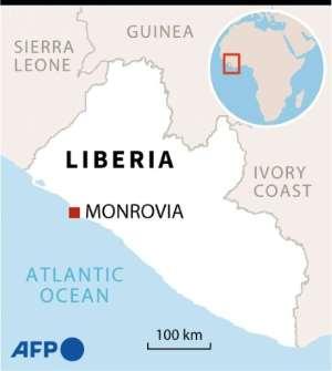 Map of Liberia locating Paynesville, where a Koranic school fire killed dozens of children.  By Valentina BRESCHI (AFP)