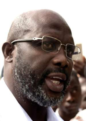 Liberian presidential candidate George Weah has played for Paris Saint-Germain, AC Milan, Chelsea and Manchester City