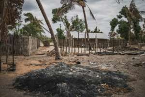 Little is known about the militants who attacked and burned the village of Aldeia da Paz last month.  By MARCO LONGARI (AFP)
