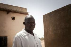Long day: Dinar Tchere, head of the health center of Hilouta.  By Amaury HAUCHARD (AFP)