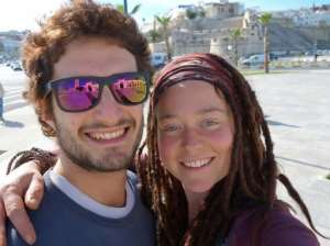 Luca Tacchetto (L) and Edith Blais (R) -- seen in this photo provided by their families from a Facebook post -- were reported missing in Burkina Faso in January 2019, and were last seen in December 2018.  By FAMILY HANDOUT (FACEBOOK/AFP/File)