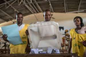 Many citizens heeded opposition party calls to boycott the polls.  By Yanick Folly (AFP/File)