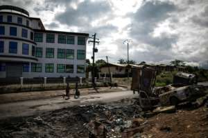 Many residents of Buea, capital of Cameroon's Southwest region, say they are in despair over the ongoing violence. By MARCO LONGARI (AFP/File)