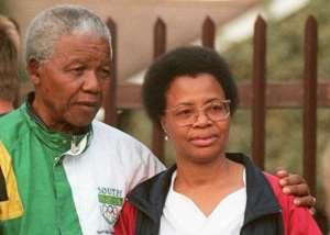 Nelson Mandela And Graca Machel In Houghton A Suburb Of Johannesburg On September 8