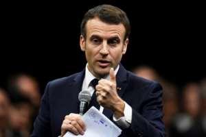 Macron argued Algeria needed