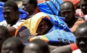 Macron willcall for greater efforts to combat the trafficking of migrants up through Africa to Libya, where they pile into rickety boats that often sink en route to Europe.