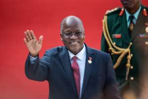 Magufuli says the coronavirus pandemic 'will go like others have gone'.  By Michele Spatari (AFP/File)
