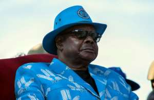 Malawi's President Peter Mutharika hopes to win a second term.  By AMOS GUMULIRA (AFP/File)