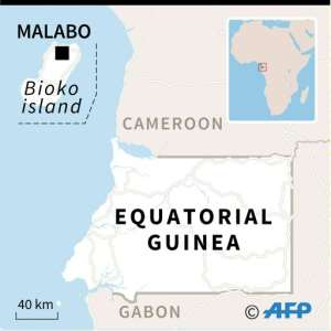 Map of Equatorial Guinea.  By AFP (AFP)