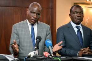 Martin Fayulu was named on Sunday as joint opposition candidate in DR Congo's presidential election on December 23.  By Fabrice COFFRINI (AFP)