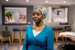 Marwa Gibril, the organiser of the SOAS exhibition, said the street art was