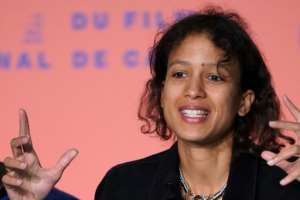 Mati Diop, 36, grew up in France and belongs to a Senegalese artistic dynasty including her uncle, acclaimed director Djibril Diop Mambety, and her father, musician Wasis Diop..  By Sébastien BERDA (AFP)