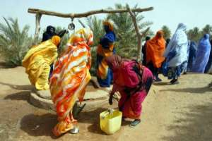 Mauritanian law as well as family and police hostility strongly discourage women, like the ones pictured in 2002, from denoucning their attackers.  By GEORGES GOBET (AFP/File)