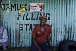 Mechanic Sameri is in 'survival mode'.  By Tony Karumba (AFP)