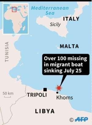 Mediterranean migrants.  By Simon MALFATTO (AFP)