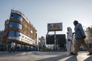 Mekele has been transformed by the conflict.  By EDUARDO SOTERAS (AFP)