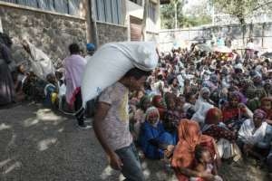 Millions of people need food assistance, the government's Tigray Emergency Coordination Centre says.  By EDUARDO SOTERAS (AFP)