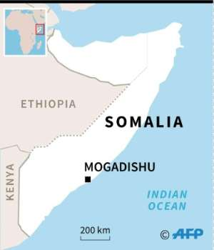 Mogadishu has been hit frequently by Al-Shabaab attacks. By AFP (AFP)