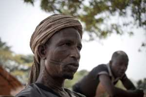 Mohammad, a Fulani herder, returned to Awatche after vainly seeking security elsewhere. His cattle were stolen by armed groups. By FLORENT VERGNES (AFP)