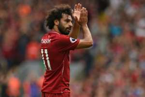Mohamed Salah scored 44 goals for Liverpool last season in a remarkable first campaign for the Egypt star at Anfield.  By Oli SCARFF (AFP)