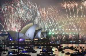 More than 100,000 fireworks will light up the skyline for spectators crowding foreshores and parks.  By PETER PARKS (AFP/File)