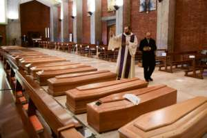 More than 10,000 people have died from COVID-19 in Italy.  By Piero CRUCIATTI (AFP)