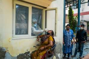 More than 8 million people are known to have been infected with the disease in India, the second largest total for any country, behind the United States.  By Jewel SAMAD (AFP)