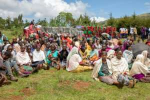 More than a million people have been displaced due to ethnic conflict in southern region of Gedeo state and west region of Oromia state.  By Yonas KIROS (AFP)