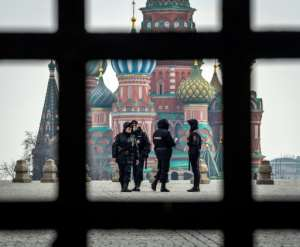 Moscow said it would tighten its lockdown restrictions, rolling out digital travel permits for some.  By Yuri KADOBNOV (AFP)