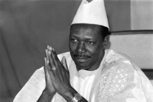 Moussa Traore, who died on Tuesday, ruled Mali for 22 years, taking power and losing it in a coup.  By FRANCOIS ROJON (AFP/File)
