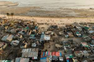 Mozambique homes must be reinforced and farmers must learn how to mitigate droughts and floods, an aid expert says.  By Guillem Sartorio (AFP)