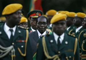 Mugabe's popularity faded as he cracked down on opponents.  By ALEXANDER JOE (AFP/File)