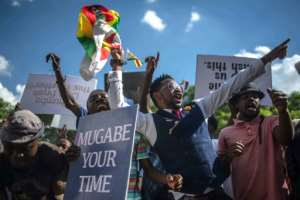 Mugabe's resignation came after protestors held demonstrations calling for him to step aside