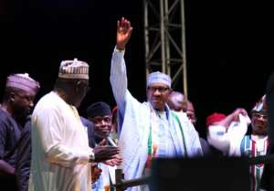 Muhammadu Buhari was nominated to be presidential candidate for the ruling Nigerian APC (All Progressive Congress) in Abuja in October 2018.  By Sunday Aghaeze (AFP/File)