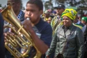 Nkosazana Dlamini-Zuma, the president's ex-wife, is Zuma's favoured successor to lead the African National Congress Party (ANC)