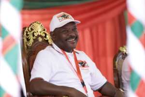 Nkurunziza died of a heart attack, the government says, though some suspect he had the new coronavirus.  By STRINGER (AFP/File)