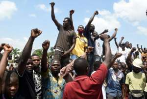 Nigeria has been rocked by protests over police brutality and deep-rooted social grievances.  By PIUS UTOMI EKPEI (AFP/File)