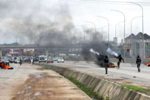 Nigeria has summoned South Africa's envoy over the violence.  By KOLA SULAIMON (AFP)