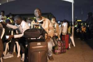 Nigeria repatriated hundreds of nationals after the violence.  By PIUS UTOMI EKPEI (AFP/File)