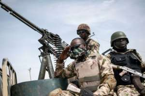 Nigerian forces have been battling a grinding Islamist insurgency, one of Buhari's challenges.  By STEFAN HEUNIS (AFP)