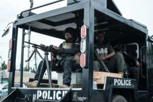 Nigerian police have arrested 93 suspected kidnappers across north Nigeria in the last week.  By Yasuyoshi CHIBA (AFP/File)