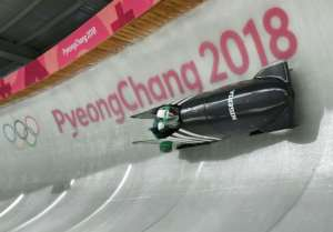 Nigeria's first Olympic women's bobsleigh team train in Pyeongchang, for an event they admit can be
