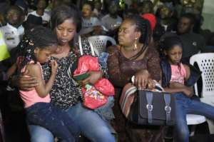Nigeria's government said it would repatriate around 600 citizens from South Africa.  By PIUS UTOMI EKPEI (AFP)