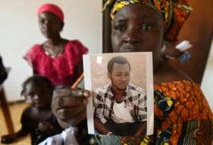 No news: Her son has been missing for three years.  By Sia KAMBOU (AFP)