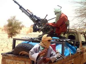 Islamists rebels of Ansar Dine  are pictured.  By Romaric Ollo Hien (AFP/File)
