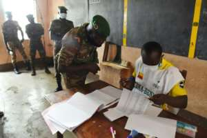 Obversers say voter turnout was lower than in the past after an opposition boycott.  By PIUS UTOMI EKPEI (AFP)
