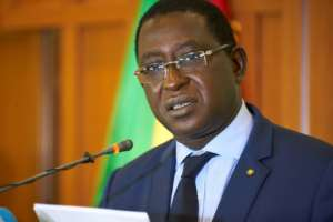 Opposition candidate and former minister Soumaila Cisse, 68, has slammed the August 12 vote that handed a second term to his opponent Keita as marred by fraud.  By Michele CATTANI (AFP/File)
