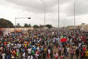 Opposition groups marched in September demanding the ouster of Gnassingbe