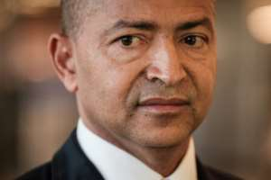 Opposition leader Moise Katumbi will try to enter DR Congo via Zambia in a bid to contest in the country's long-delayed December elections.  By Yasuyoshi CHIBA (AFP/File)